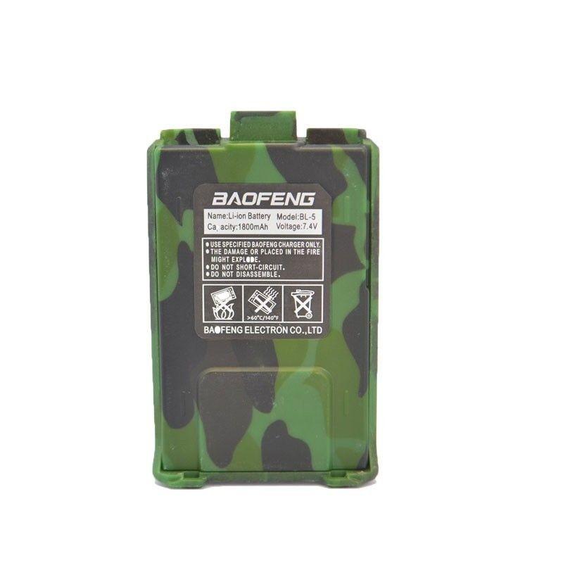 Batería 1800Mah Baofeng UV-5R Camo
