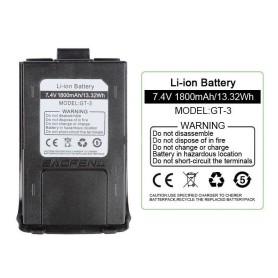 Bateria 1800Mah Baofeng Gt-3