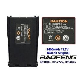 Batería 1500Mah Baofeng Bf-888S Negro