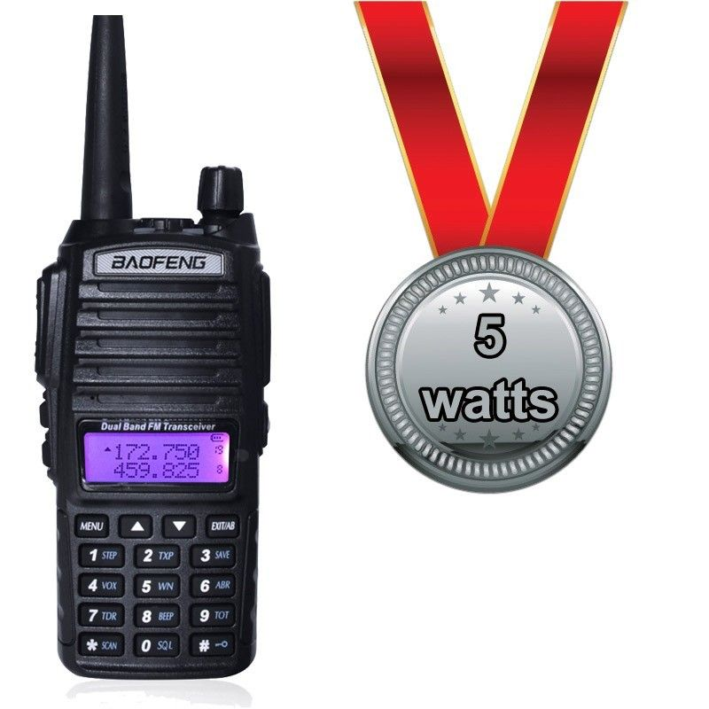 Radio Baofeng UV-82 - 5w
